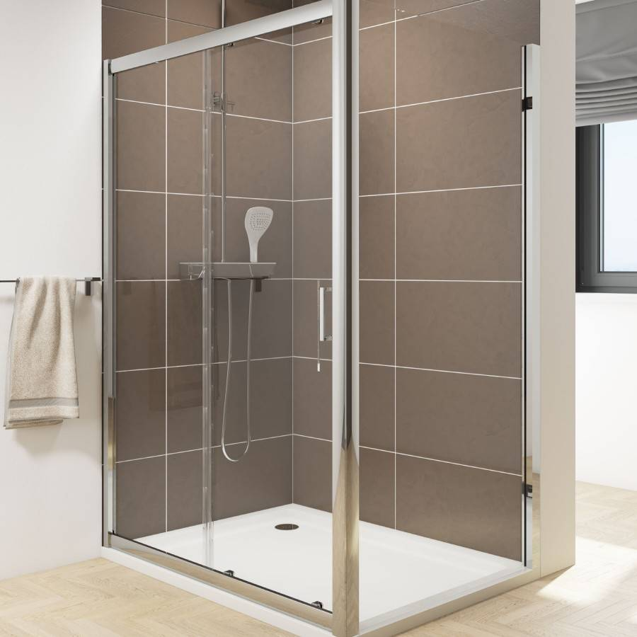 Cassellie Seis 1000mm Sliding Shower Door