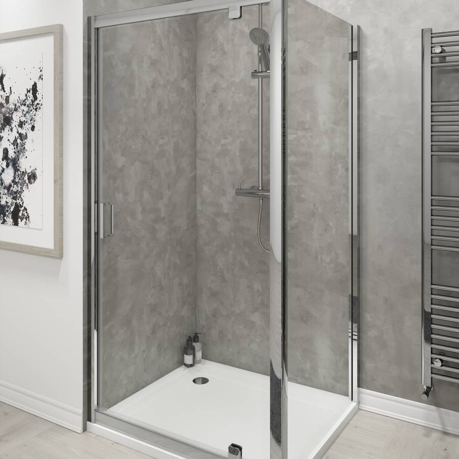 Cassellie Seis 700mm Pivot Shower Door