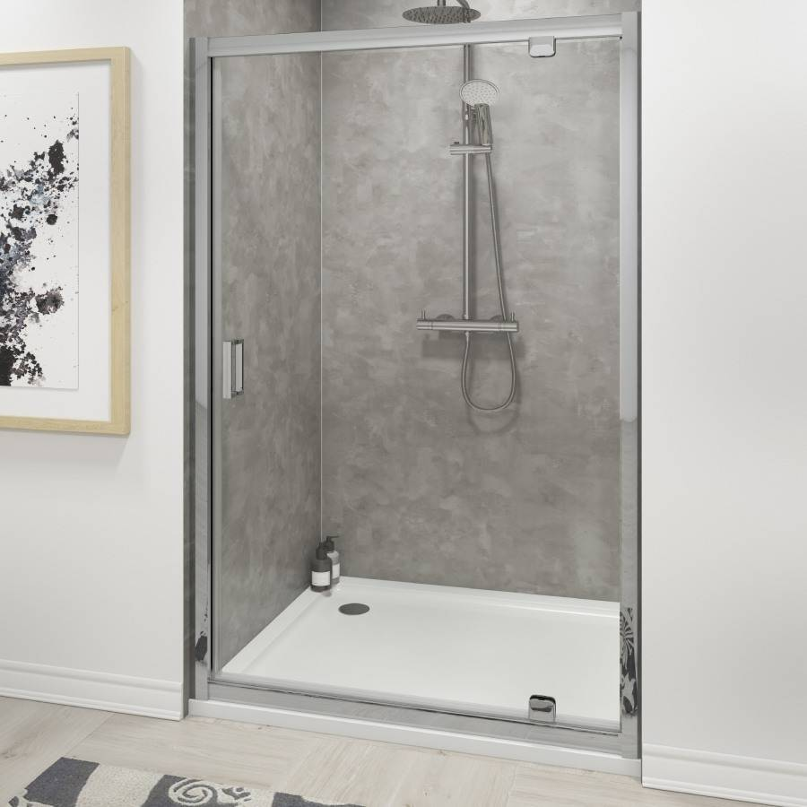 Cassellie Seis 700mm Pivot Shower Door 3