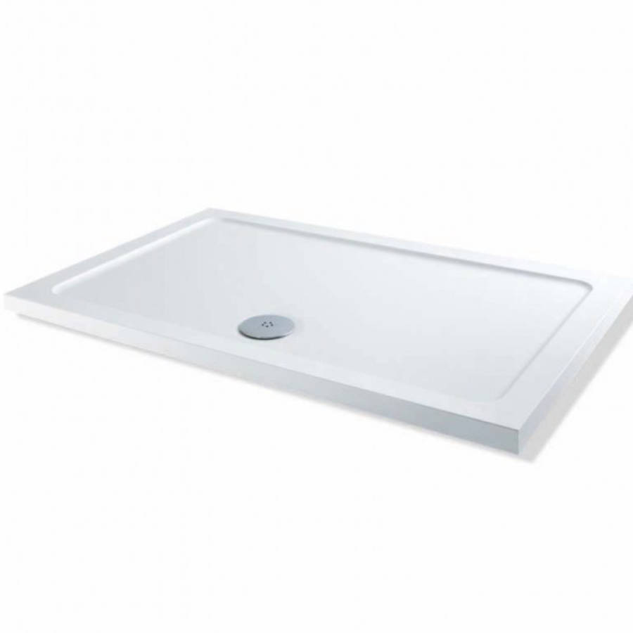 MX Elements 800 x 700mm Rectangular Flat Top Shower Tray