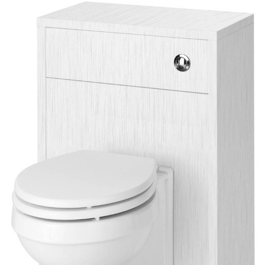 WS-Cassellie Traditional 500mm Porcelain White Ash WC Unit-1