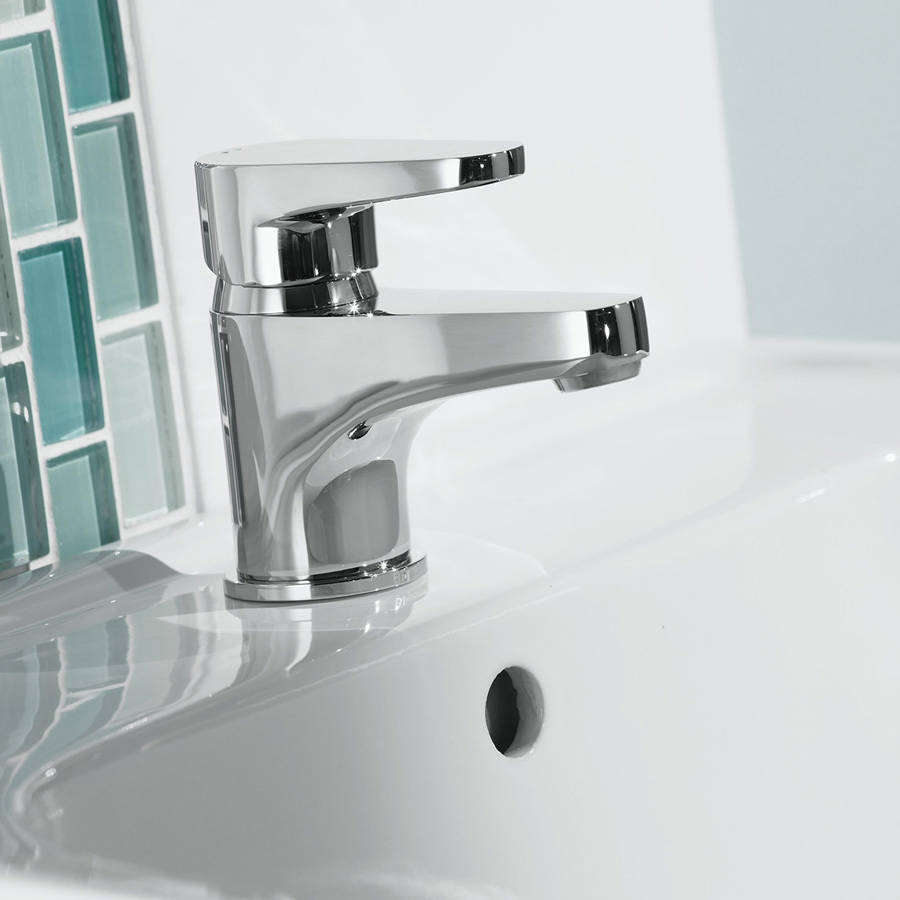 WS-Bristan Quest Basin Mixer with Clicker Waste-2