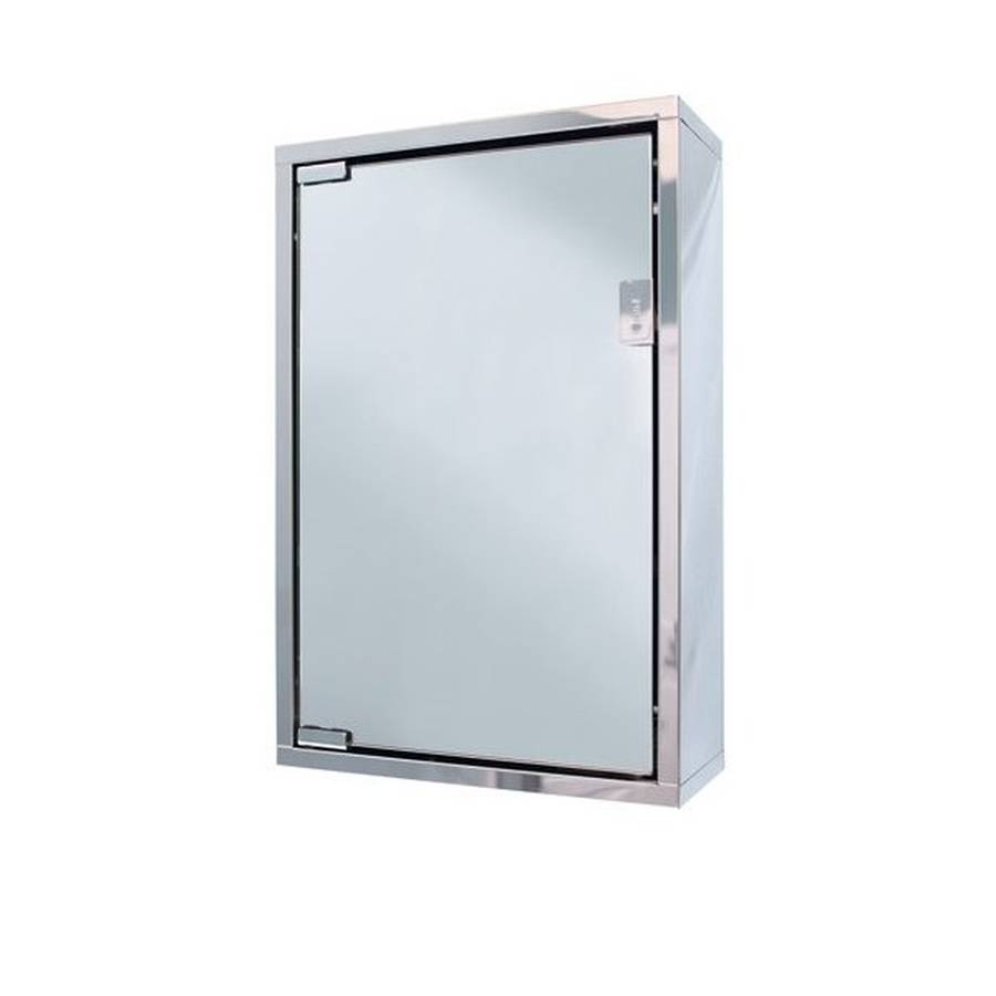 WS-Cassellie 300mm Single Door Mirror Cabinet-1