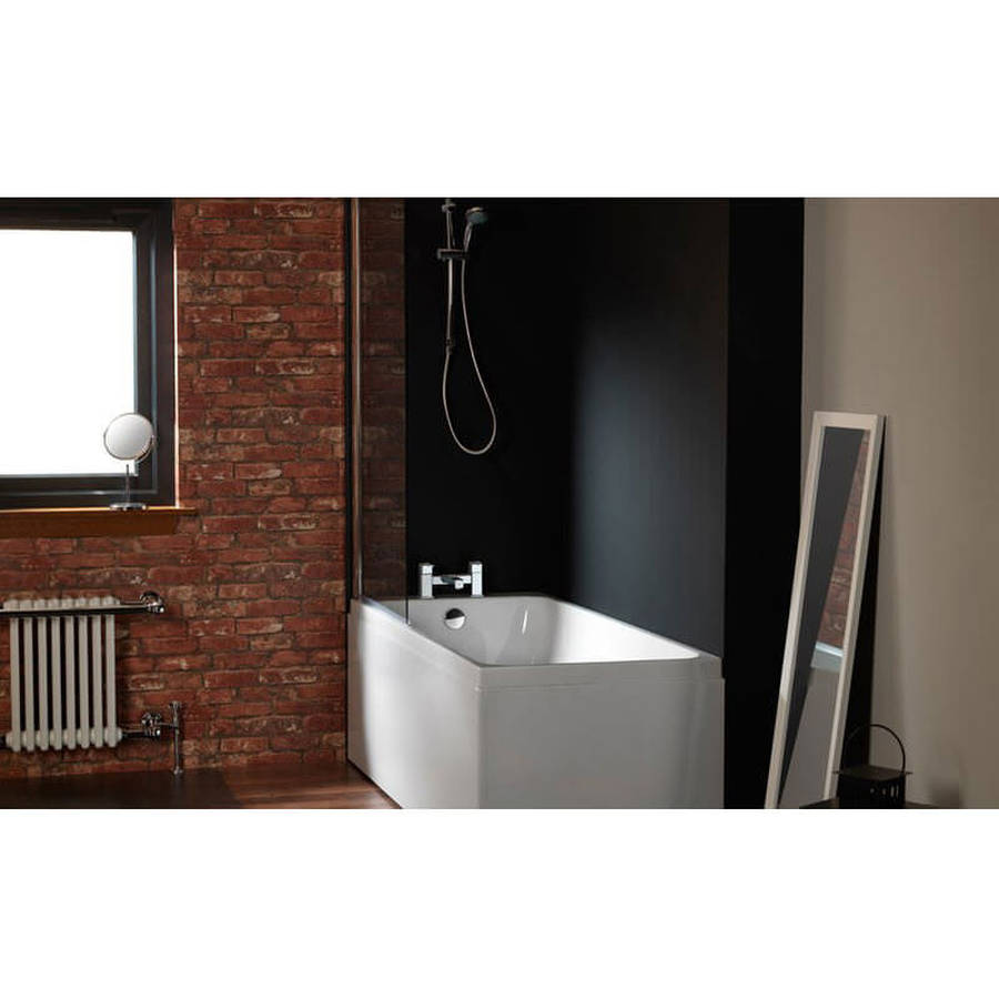 Carron Profile 1700 x 750mm Single Ended Carronite Bath-2