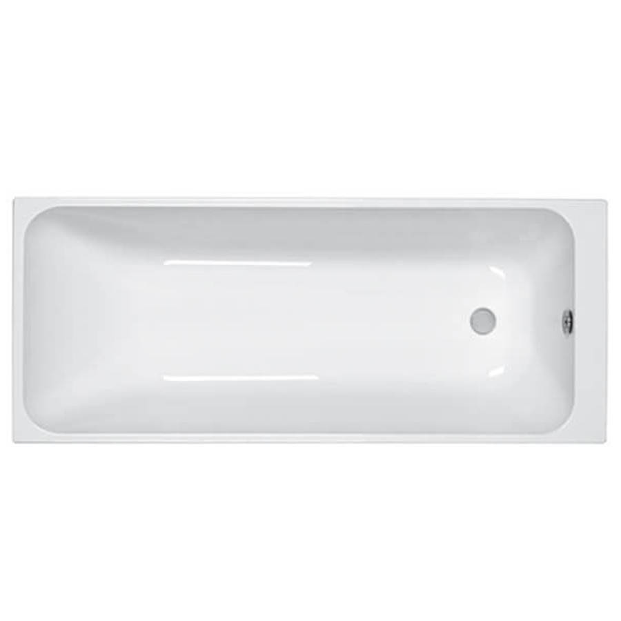 Carron Profile 1700 x 700mm Single Ended 5mm Acrylic Bath-1