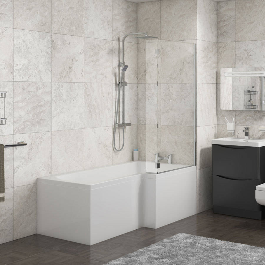 WSB-Cassellie-Halle-1500mm-L-Shape-Bath-with-Screen-&-Side-Panel---Right-Hand-2