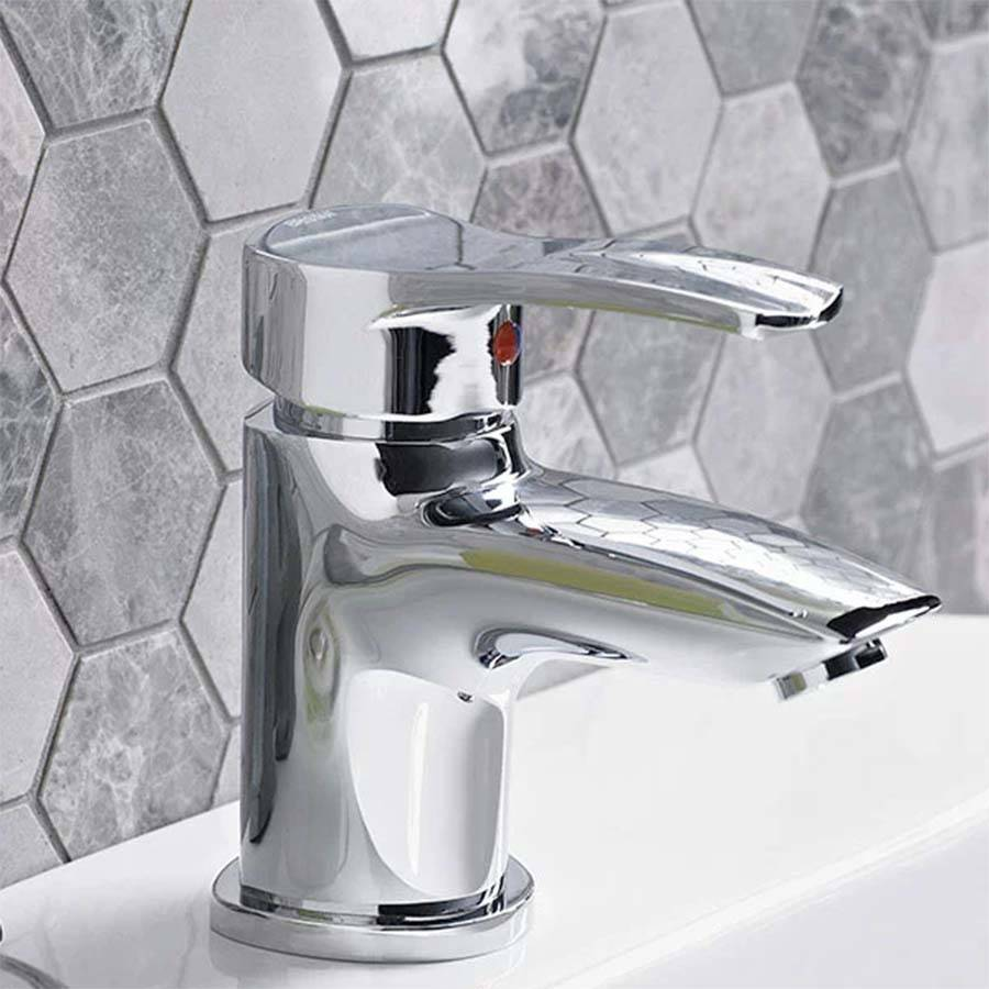 WS-Bristan Capri Basin Mixer with Eco-Click and Pop-Up Waste-2