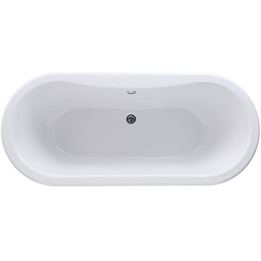 WS-Cassellie Kensington 1500mm Double Ended Freestanding Bath-2