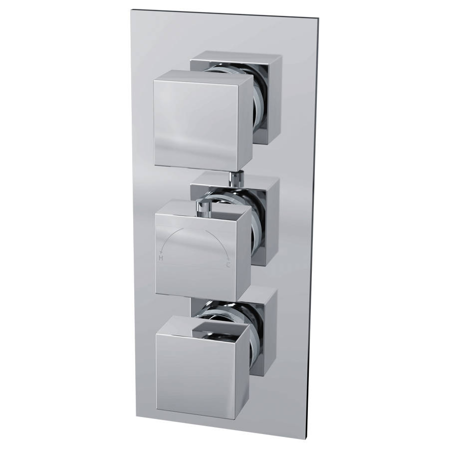 Cassellie Istra Thermostatic Dual Function Concealed Shower Valve-1