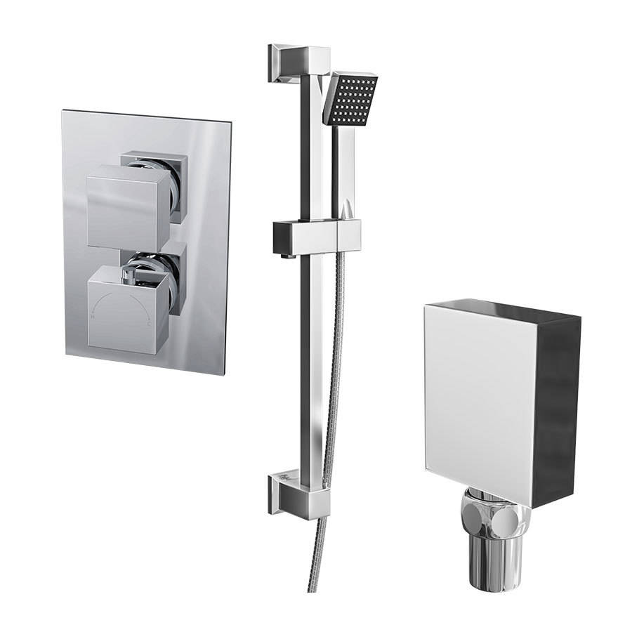 WSB-Cassellie-Twin-Squared-Concealed-Valve---Square-Slide-Rail-Kit-&-Square-Elbow-Shower-Bundle-0