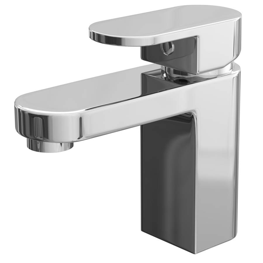 Cassellie Gento Mono Basin Mixer Tap with Click Clack Waste-1