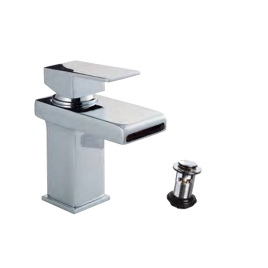 WS-Cassellie Spendo Mono Basin Mixer Tap with Click Clack Waste-1