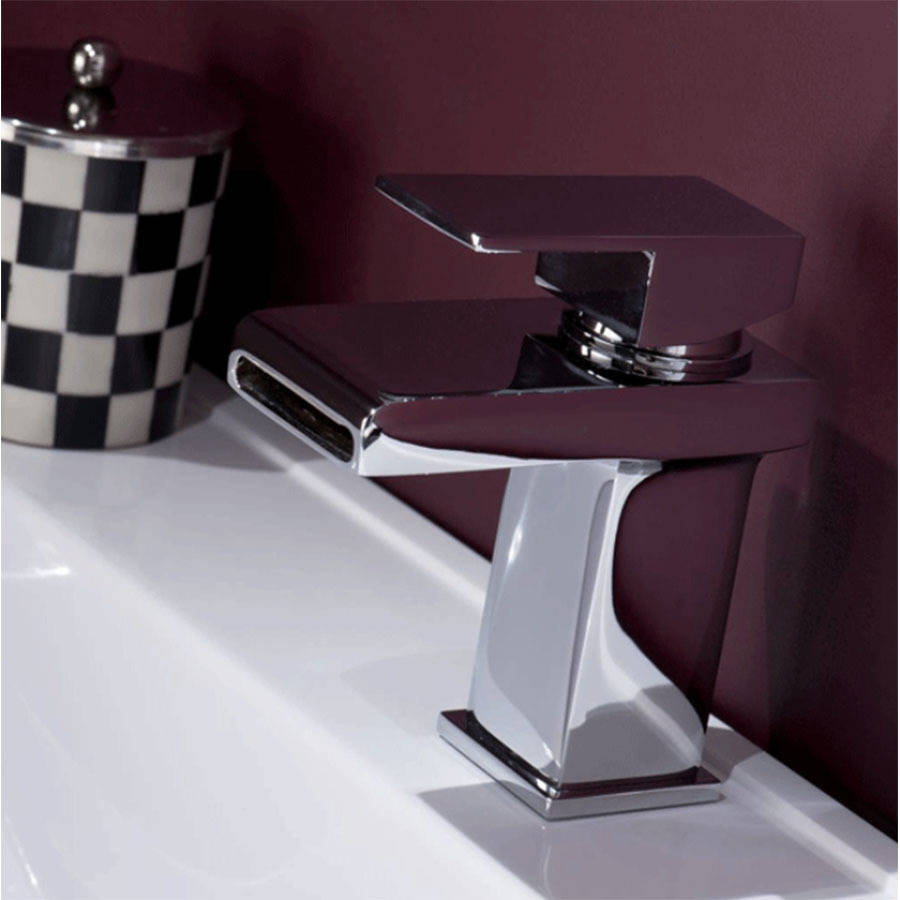 WS-Cassellie Spendo Mono Basin Mixer Tap with Click Clack Waste-2