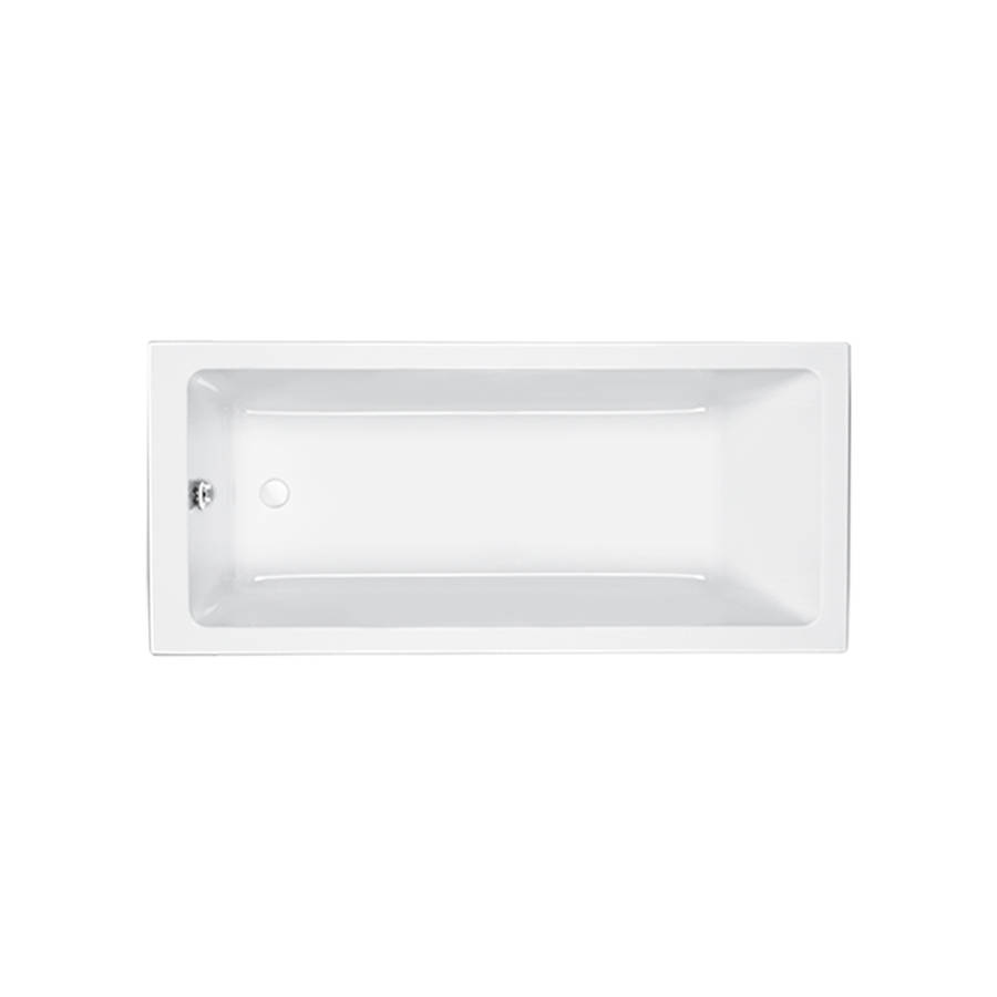 Carron Quantum 1800 x 725mm Single Ended Carronite Bath-1