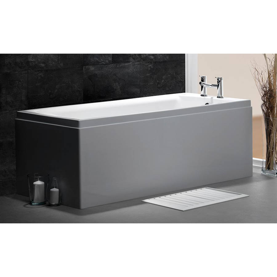 Carron Quantum 1800 x 725mm Single Ended Carronite Bath-2