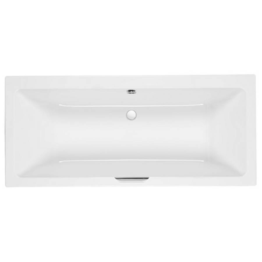 Carron Integra 1700 x 750mm Double Ended Carronite Bath with Single Grip-1