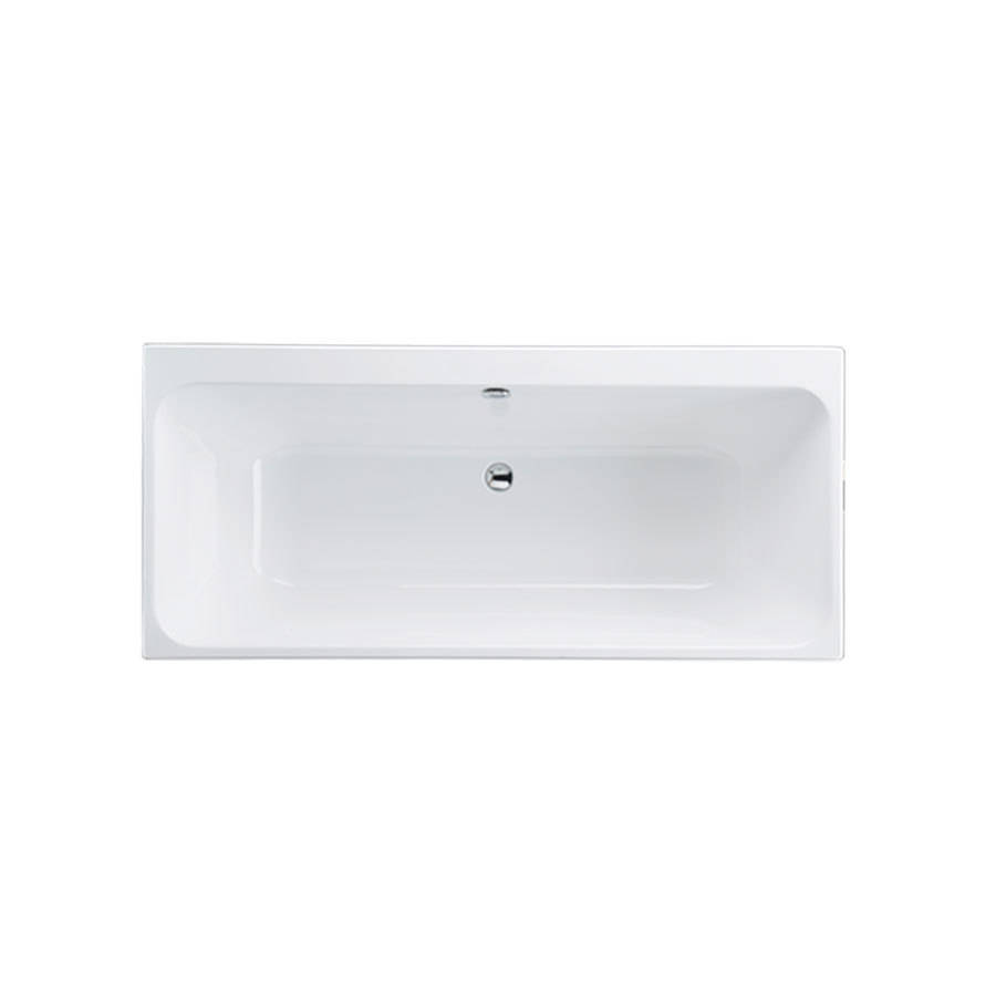 WSB-Carron Profile 1650 x 700mm Double Ended Carronite Bath-1