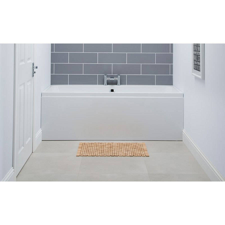 WSB-Carron Profile 1650 x 700mm Double Ended Carronite Bath-2