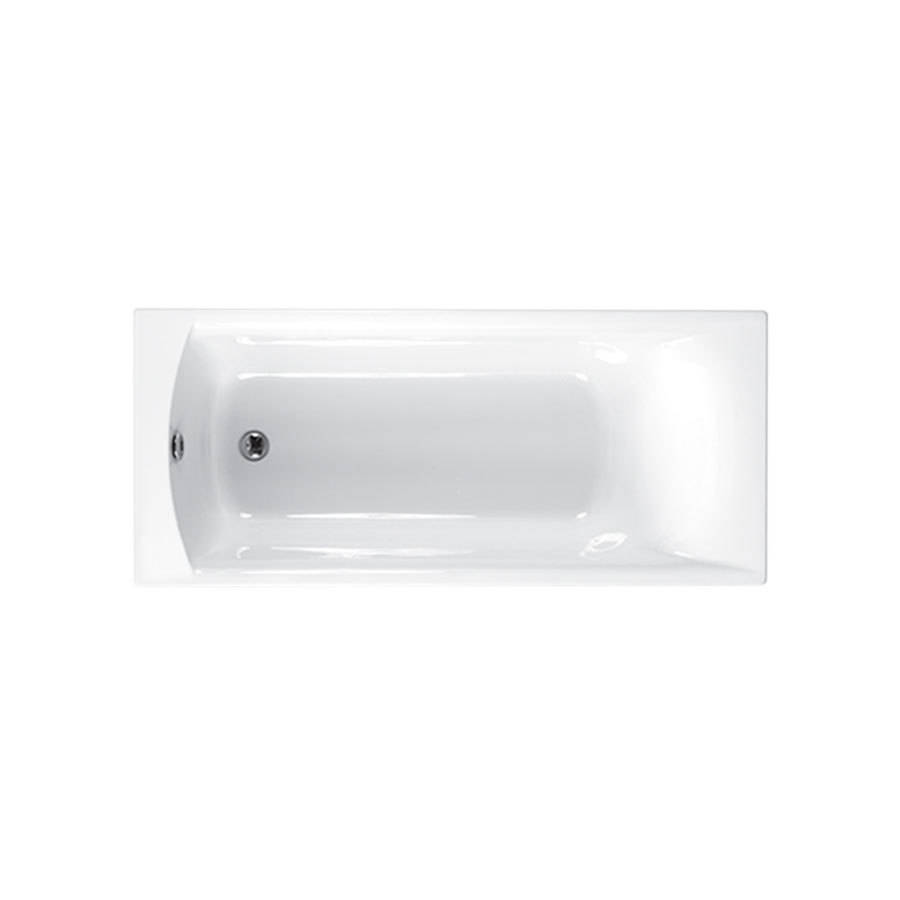 WSB-Carron Delta 1650 x 700mm Single Ended 5mm Acrylic Bath-1