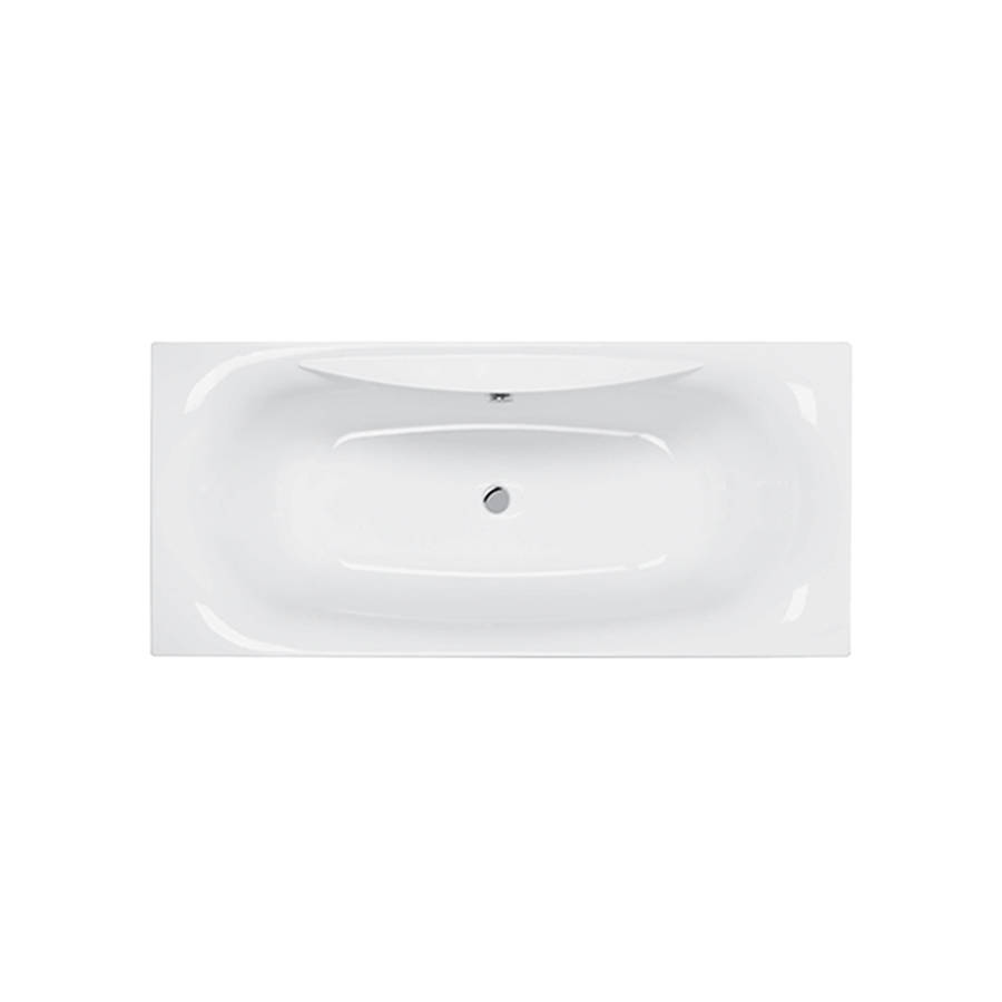 Carron Equity 1700 x 750mm Double Ended Carronite Bath-1
