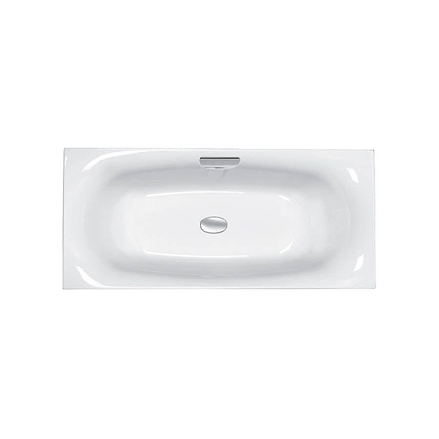 WSB-Carron Echelon 1800 x 800mm Double Ended Carronite Bath with Grip-1
