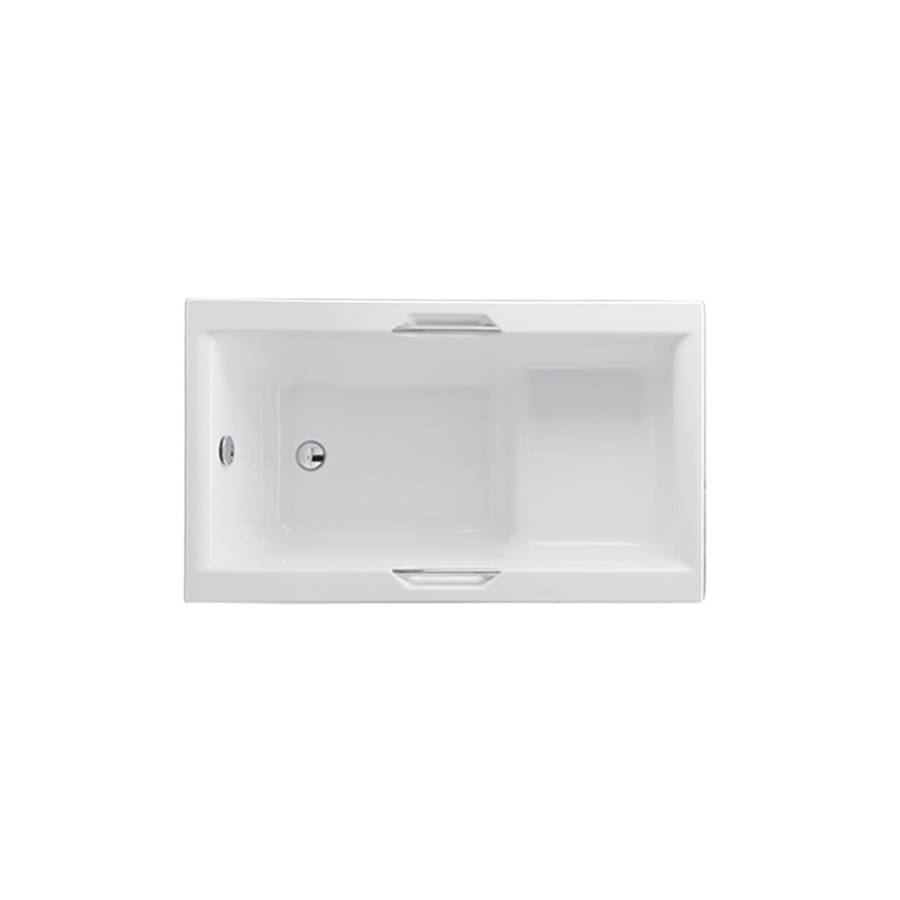 Carron Urban 1250 x 725mm Single Ended 5mm Acrylic Sit Bath with Grips-1