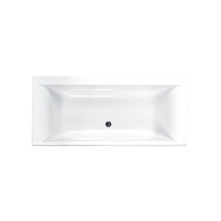 Carron Haiku 1800 x 900mm Double Ended Carronite Bath-1