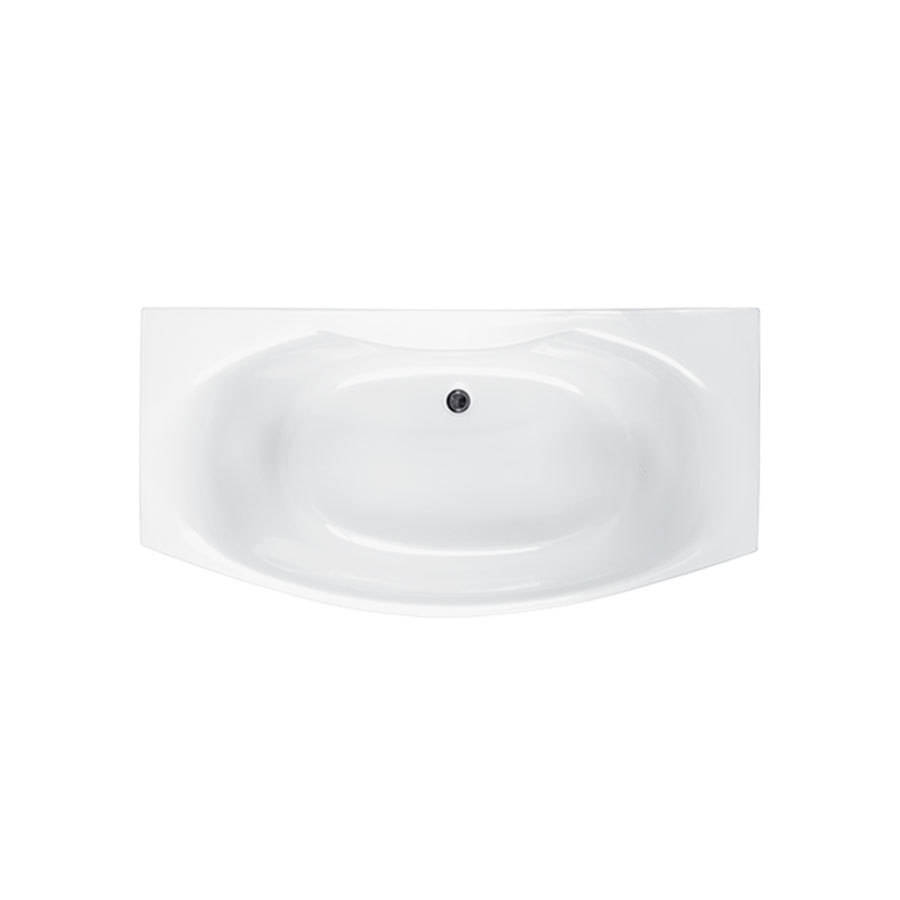 WSB-Carron Mistral 1800 x 700-900mm Double Ended Carronite Bath-1