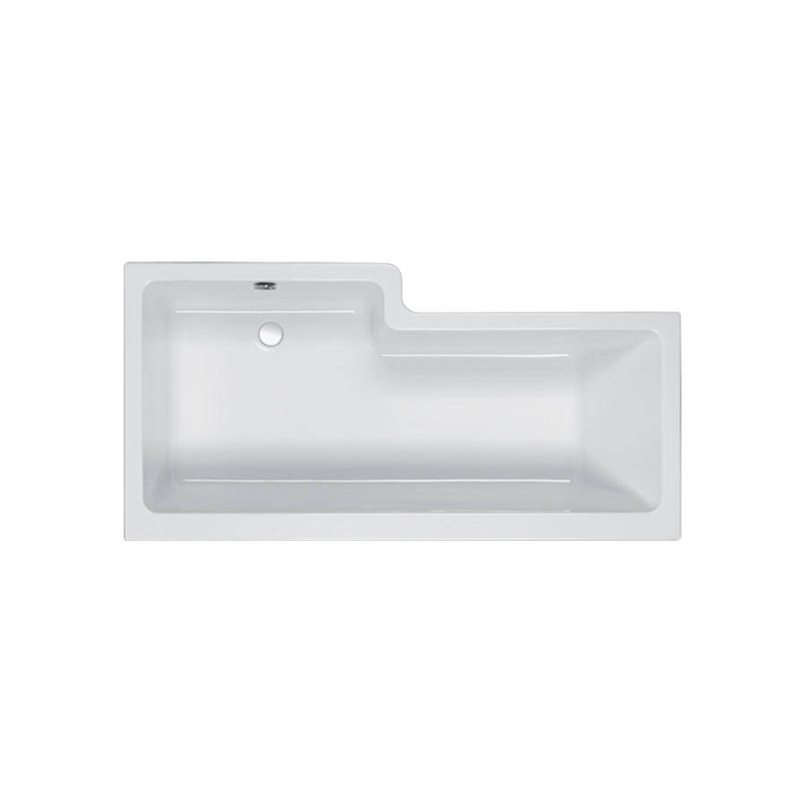 WSB-Carron-Quantum-1500-x-700-850mm-RH-5mm-Acrylic-Square-Shower-Bath-1
