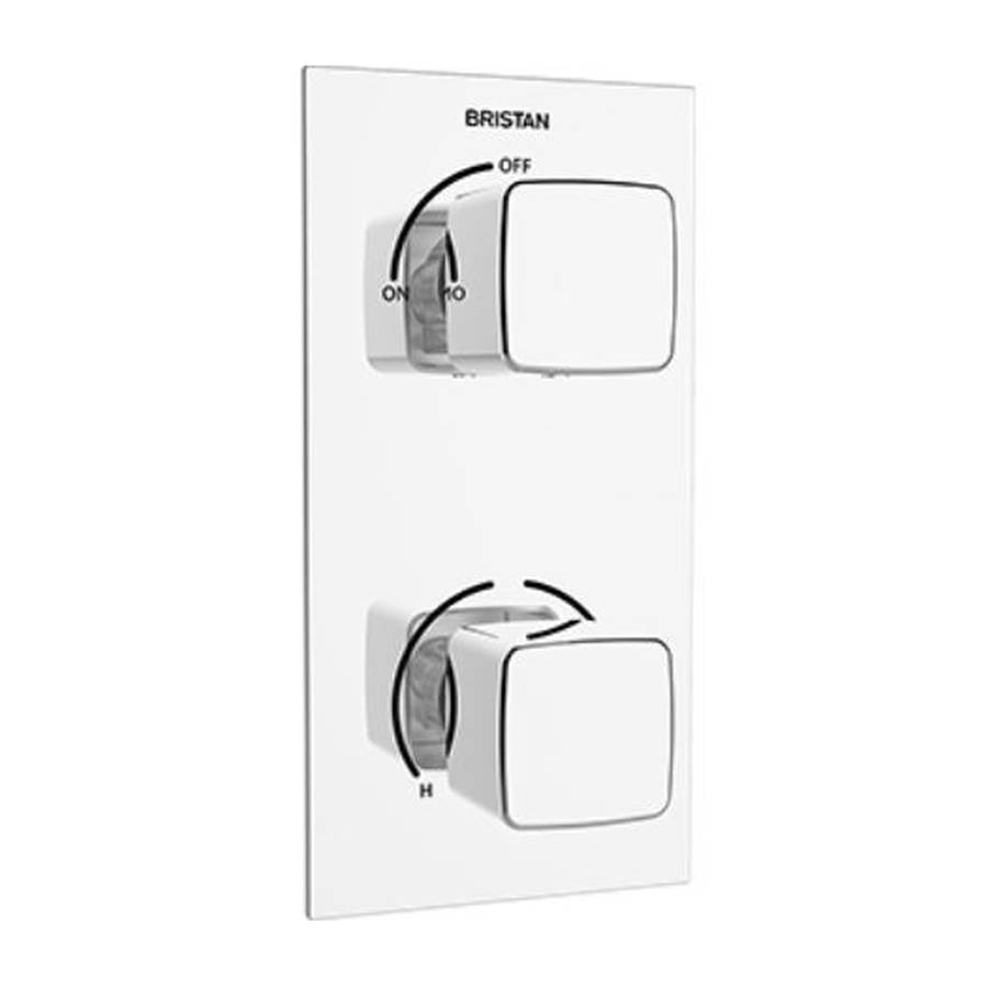 Bristan Cobalt Single Outlet Recessed Shower Valve