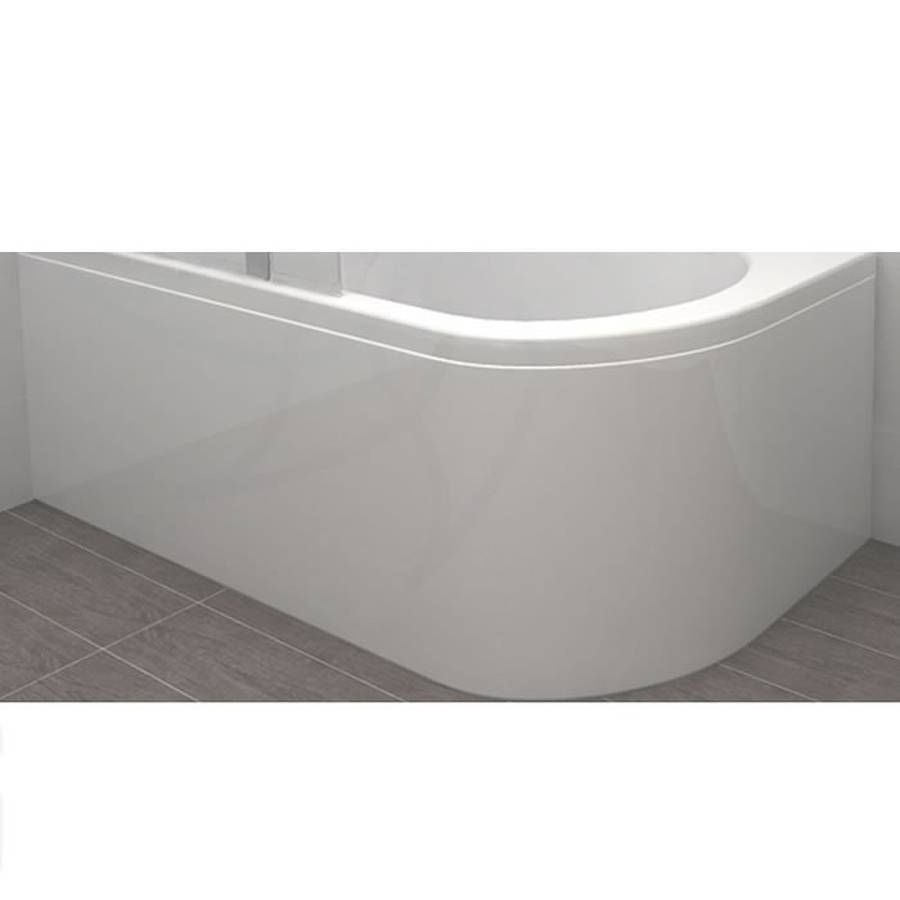 Carron Status Standard Curved Panel 1550 x 540mm-1