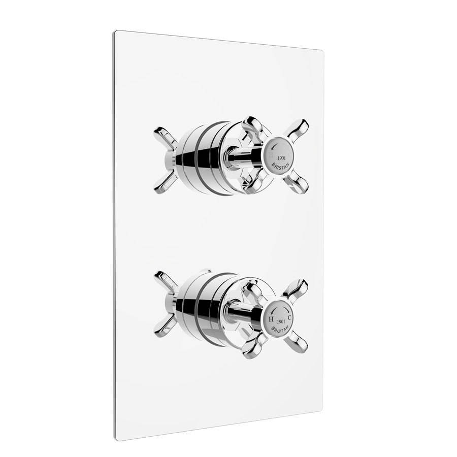 WSB-Bristan-1901-Chrome-Thermostatic-Recessed-Dual-Control-Shower-Valve-1