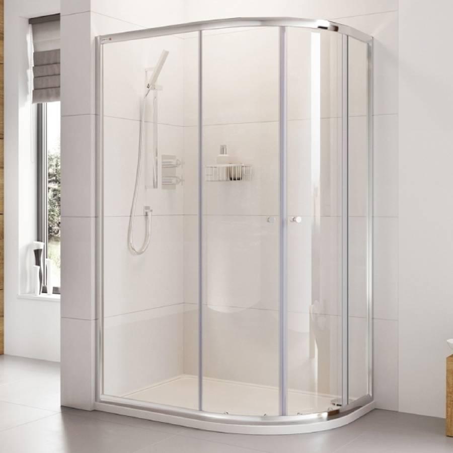 Roman Haven 1200 X 900mm Two Door Offset Quadrant Shower