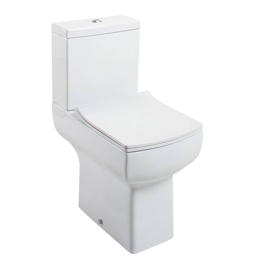 WS-Cassellie Daisy Lou Comfort Height Close Coupled Pan, Cistern & Slimline Seat-1