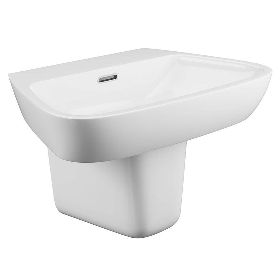 WSB-Cassellie Dearne Single Tap Basin with Semi-Pedestal-1
