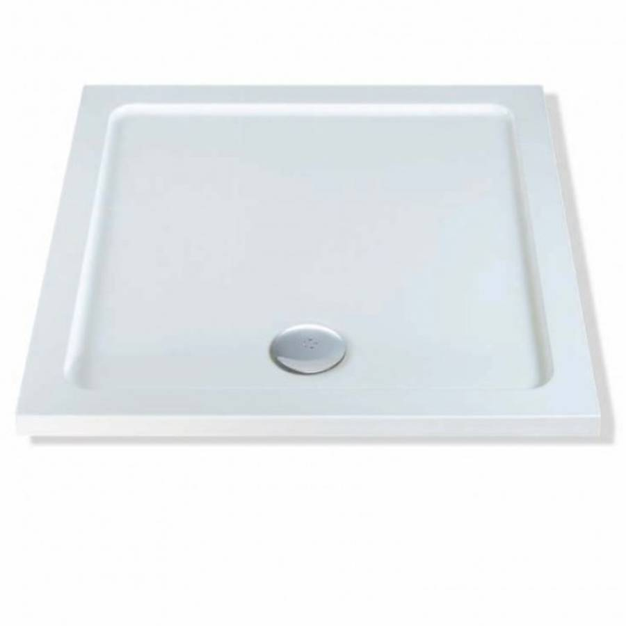 MX Elements 700 x 700mm Square Flat Top Shower Tray