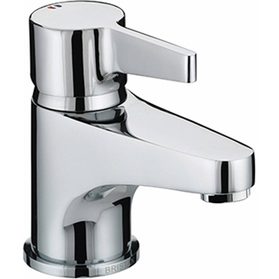 WS-Bristan Design Utility Basin Mixer with Clicker Waste-1
