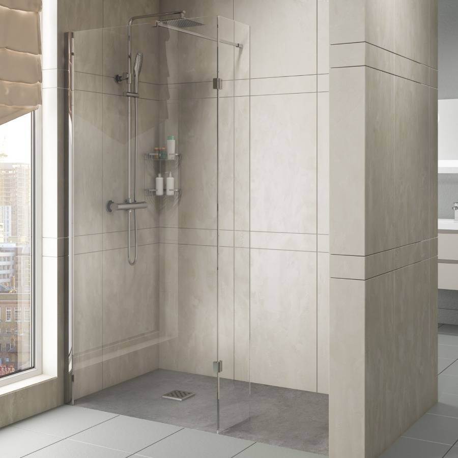 Cassellie Marna 8mm 700mm Wet Room Glass Panel
